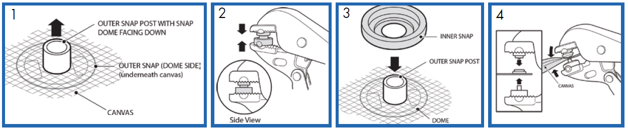 Snap Setter Tool | Snap Fastener Tools