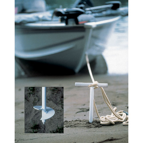 Sand Anchors Offer Exceptional Holding