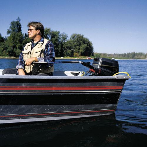 HelmsMate | Tiller Extension Handle | Outboard Tiller Extension