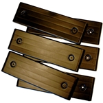 "standard E-Z Slide Trailer Slides for 4"" wide bunks"