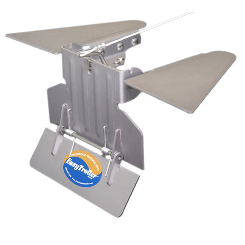 EasyTroller Trolling Plate with Fins